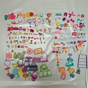 Littlest Pet Shop LPS Accessories  Lot